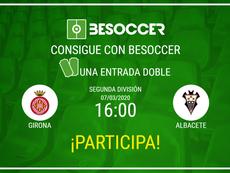 Consigue una entrada doble para el Girona-Albacete. BeSoccer