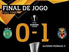 Sporting se complica ao perder em casa. AFP