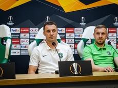 El entrenador del Ludogorets ya piensa en ganar en España. Ludogorets