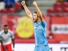 El lateral derecho macedonio se suma a las filas del Sporting de Lisboa. Twitter/Rijeka