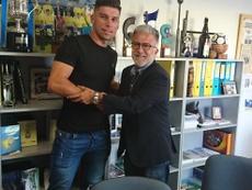 Stéphane Serbourdin, nuevo jugador de Las Palmas Atlético.  UDLasPalmas