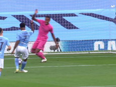 Sterling put City in front. Screenshot/MovistarLigadeCampeones