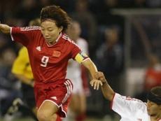 Sun Wen es la máxima goleadora histórica de la Selección China. FIFA