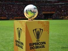 E se a Supercopa do Brasil não fosse interrompida. Twitter/AthleticoPR