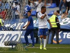 Suso firmó ante el Mensajero su partido número 300 con la camiseta del Tenerife. CDTenerife