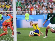 Alvarez scored an own goal. Twitter/OJ