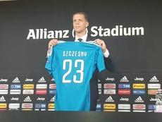 O novo goleiro da Juventus. JuventusFC