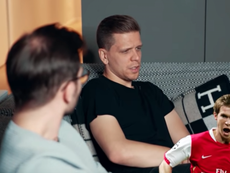 Szczesny habla de Van Persie, Hleb y Nasri. Youtube/FootTruck