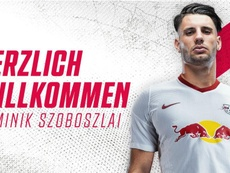 Szoboszlai, nuevo jugador del RB Leipzig. Twitter/DieRotenBullen