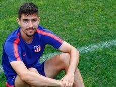 Tachi es capitán del filial del Atlético. ClubAtletilodeMadrid