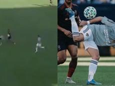 Chicharito joue déjà les Ibra avec le LA Galaxy. Twitter/Galaxy