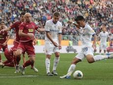 Takuma Nishimura brilló en la Copa de Rusia. Twitter/pfc_cska