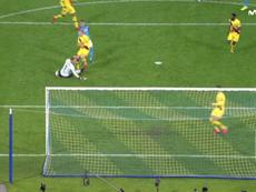Griezmann réveille le Barça en seconde période. Capture/MovistarLigadeCampeones
