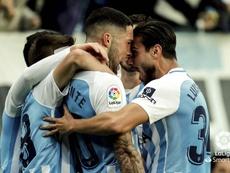 El Málaga venció 2-0. LaLiga