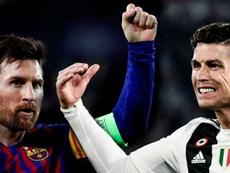 The awards of Lionel Messi vs Cristiano Ronaldo. AFP/EFE