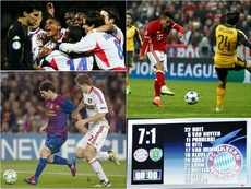 The biggest aggregate wins in Champions League history. BeSoccer