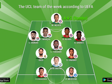 The UCL team of the week according to UEFA. BeSoccer