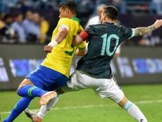 Thiago Silva si scaglia contro Messi. AFP