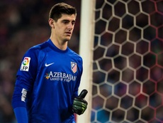 Courtois spent three seasons on loan at Atletico. EFE