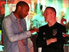 El francés y el inglés compartieron impresiones sobre el partido. @MLS