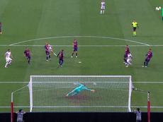 La rete di Muller contro il Barcellona. MovistarLaLigadeCampeons