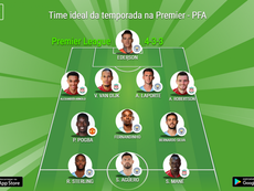 Time ideal da temporada na Premier - PFA. BeSoccer