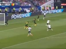 Timo Werner puso el tercero en el marcador. Captura/GOL