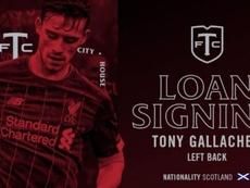 Tony Gallacher jugará como cedido en Toronto FC hasta final de año. TorontoFC
