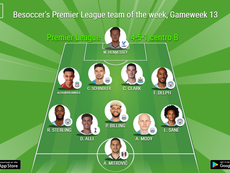 Besoccer's Premier League team of the week. BESOCCER