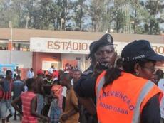 Tragédia no estádio angolano. Twitter