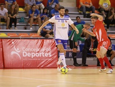 El Zaragoza logró su primer triunfo del curso. Twitter/ADSala10