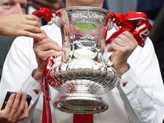 La magia de la FA Cup. AFP