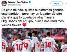 Messi, o extraterrestre. Captura/Twitter/BenYedder