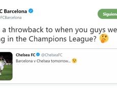 Al Chelsea no le salió bien la jugada. FCBarcelona