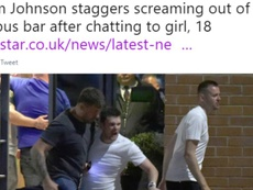 Adam Johnson vuelve a acaparar las miradas en Inglaterra. Twitter/DailyStar