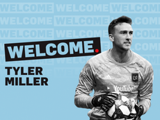 Tyler Miller probará suerte en la MLS. MNUFC