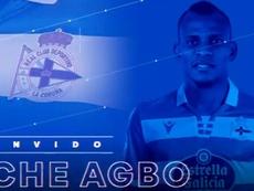 Uche Agbo ya es propiedad del Deportivo de la Coruña. RCDeportivo