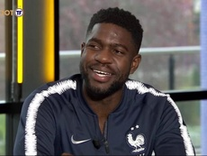 It's clear for Umtiti: he will continue with Barca next year. Captura/TF1