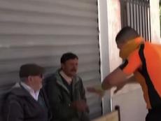 Un árbitro de Túnez se hace viral. Captura/TRTWorld