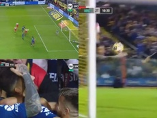 Un cabezazo de López dio el pase a Boca a la final de la Copa de la Superliga. Captura/TNTSports