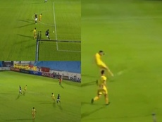 Un grosero error de Jara dejó el gol en bandeja para Silba. Captura/TyCSports