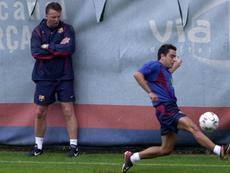 Xavi foi impedido de ir para o Milan. FCBarcelona