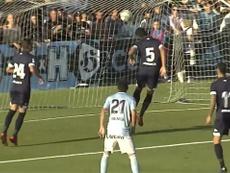 El Celta pasó por encima del Lugo. Captura/CeltaMedia