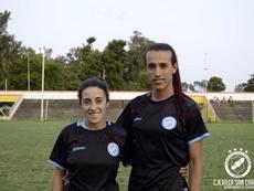 Villa San Carlos defendió a su jugadora transexual ante los comentarios. Twitter/vscffem