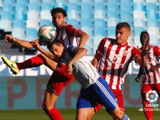 El Almería espera poder entrenar este jueves. LaLiga