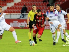 El Extremadura encadenó en Anduva su cuarta derrota seguida. LaLiga