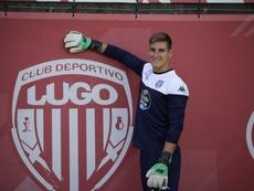 Gana un concurso y ficha por el Lugo. Twitter/CDeportivoLugo
