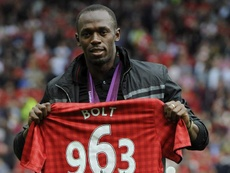 Bolt pushes Griezmann to sign for United. EFE
