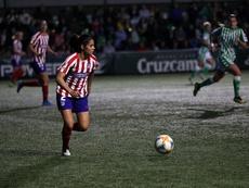 Así queda la situación del fútbol femenino en España. Twitter/AtletiFemenino
