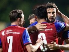 El Basilea pasa con comodidad a octavos de Copa. FCBasel